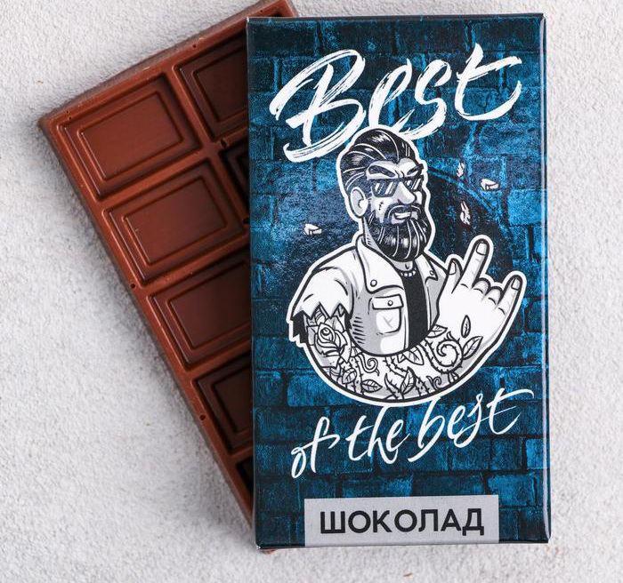 Шоколад молочный «Best of the best»: 27 г